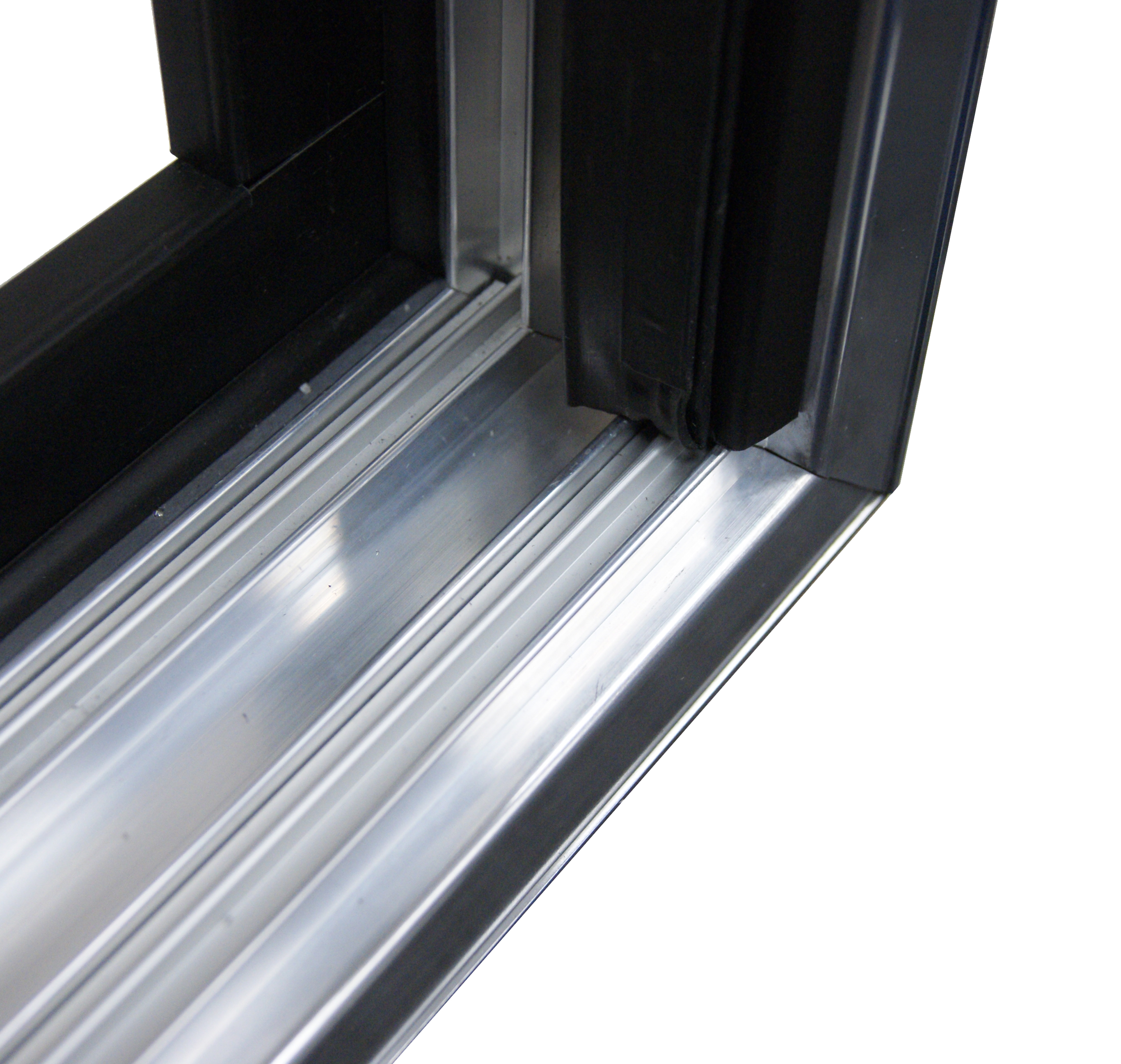 Aluminum Sliding Doors Commercial Display Systems